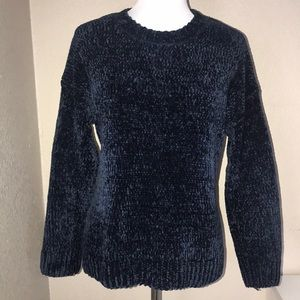 Sweaters - Slouchy Chenille Sweater